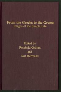 From the Greeks to the Greens : images of the simple life