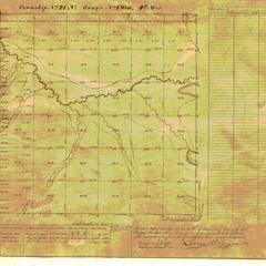 [Public Land Survey System map: Wisconsin Township 21 North, Range 07 West]