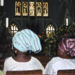 Church during Apara wedding ceremony