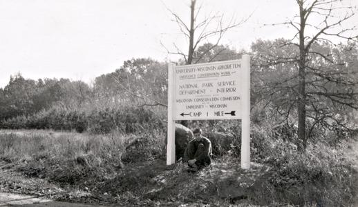 Early Arboretum sign