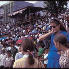 Boat races : crowd--general view toward stand