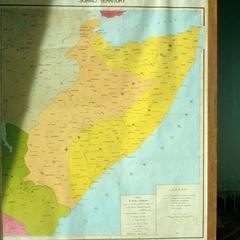 Irredentist Map of Somalia in 1981