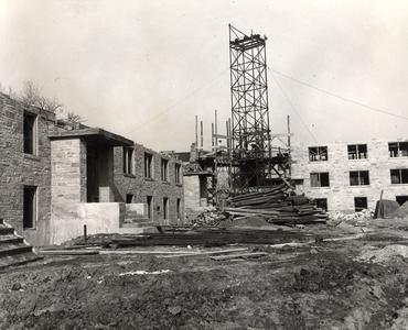 Short Course Dorms under construction