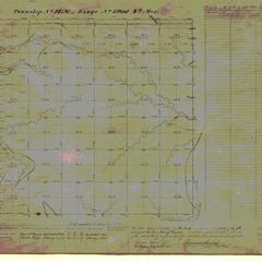 [Public Land Survey System map: Wisconsin Township 21 North, Range 05 West]