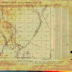 [Public Land Survey System map: Wisconsin Township 33 North, Range 10 West]