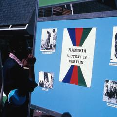 SWAPO (South West Africa Peoples Organization) Solidarity Week Display