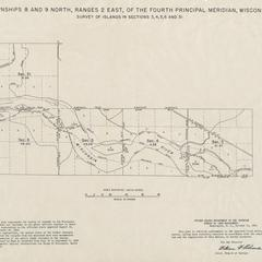 [Public Land Survey System map: Wisconsin Township 08 North, Range 02 East; Township 09 North, Range 02 East]