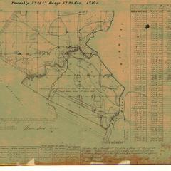 [Public Land Survey System map: Wisconsin Township 24 North, Range 20 East]