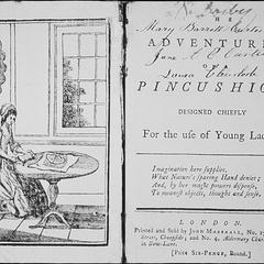 The adventures of Pincushion : designed chiefly for the use of young ladies