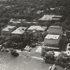 Aerial view of Memorial Union