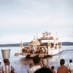 Ferry Boat Crossing the Niger River