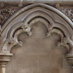 St Albans Cathedral interior retrochoir