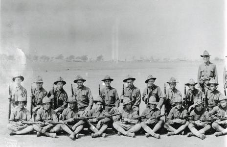 Company I at Camp MacArthur -#1