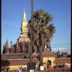 General view of That Luang