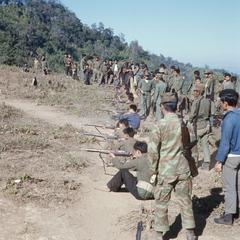 Soldiers undergoing training