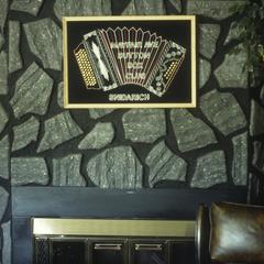 Ed Snidarich's fireplace