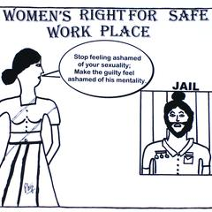 Women's right for safe work place