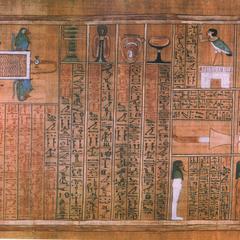 Funerary papyrus