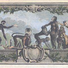 Large Primate Group Print