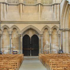Wells Cathedral interior west end