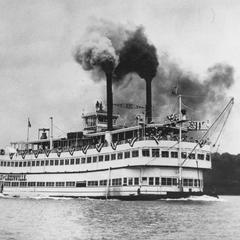 The Belle of Louisville in her first race