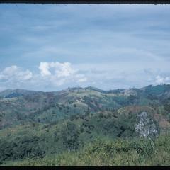 Landscape at Kammu (Khmu') village near Xieng Ngeun