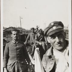 Auf der Fahrt nach Rumänien 1917