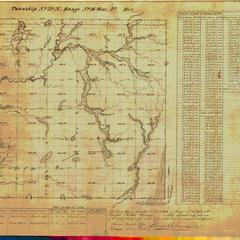 [Public Land Survey System map: Wisconsin Township 32 North, Range 16 West]