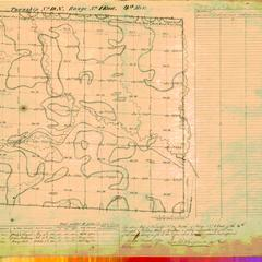 [Public Land Survey System map: Wisconsin Township 18 North, Range 01 East]