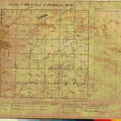 [Public Land Survey System map: Wisconsin Township 47 North, Range 12 West]