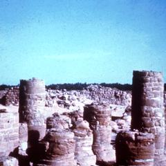 Ruins of the Temple of Merowe in Northern Province