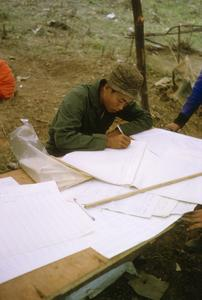 Registration of ethic Hmong and Khmu' refugees