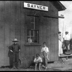 Station at Sayner