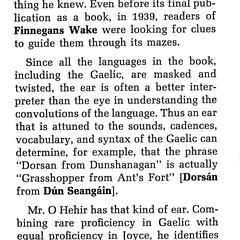 A Gaelic lexicon for Finnegans wake, and glossary for Joyce's other works