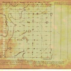[Public Land Survey System map: Wisconsin Township 20 North, Range 16 East]