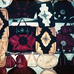 Leather Goods in Marrakech Souk