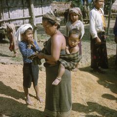 Ethnic Khmu' woman