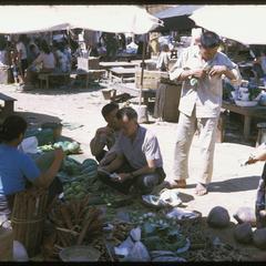 Vangviang : vegetable sellers