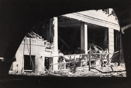 Sterling Hall bombing damage