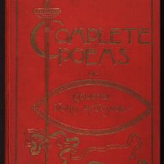 Complete poems of Col. John A. Joyce