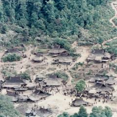 Akha village of Sobloi in Houa Khong Province