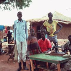 Tailors Seeking a Livelihood During War