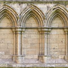 York Cathedral exterior north transept