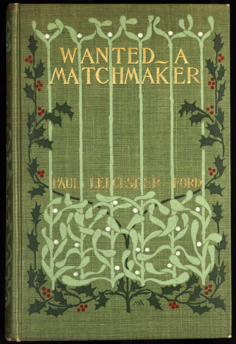 Wanted--a match maker (1 of 4)