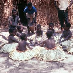 Secluded Cokwe Boys Return to Village in Dance Sequence