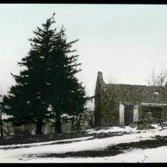 Henry Karcher home, a ruin