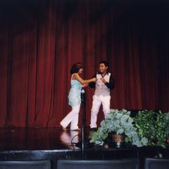 Patricia Solorzano dances at the 2005 American Multicultural Student Leadership Conference