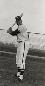 Dale Hackbart in baseball uniform