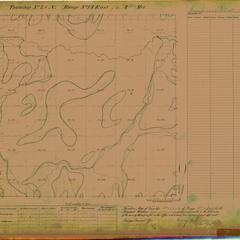 [Public Land Survey System map: Wisconsin Township 38 North, Range 14 East]