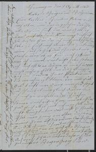 [Letter from Georg and Johanna Siber, Theresia Leute, and Joseph Leute to their siblings and inlaws, April 8, 1867]